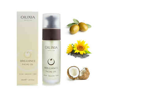 Oilixia Skincare - Brilliance Facial Oil - Save 59%