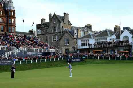 Alfred Dunhill Links Championship - Early Bird or Standard Tickets to Alfred Dunhill Links Championship on 9 October - Save 70%
