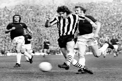 Newcastle United - Live Screening of Fulham vs Newcastle and Talk with Malcolm MacDonald with Beer and Pie on 5 August - Save 0%