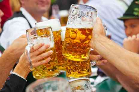 Oktoberfest - Oktoberfest Entry with Beer and Bavarian Meal for Two or Four - Save 54%