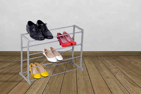 Vision Tech - Four tier shoe rack - Save 83%