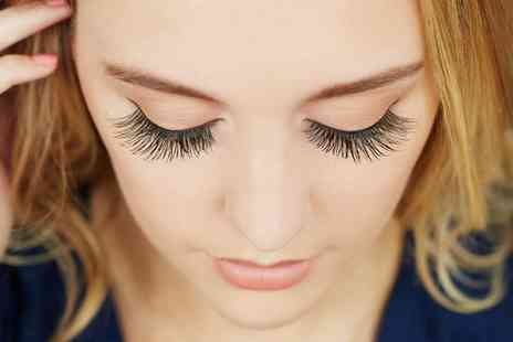 Courtney - Semi Permanent Eyelash Extensions with Optional Brow Treatment - Save 48%