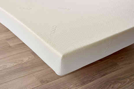 Cheap Mattresses - Single, double or king size triple zone memory foam mattress - Save 74%
