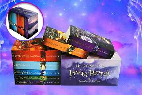 PCS Books - Complete Harry Potter 7 book set - Save 65%
