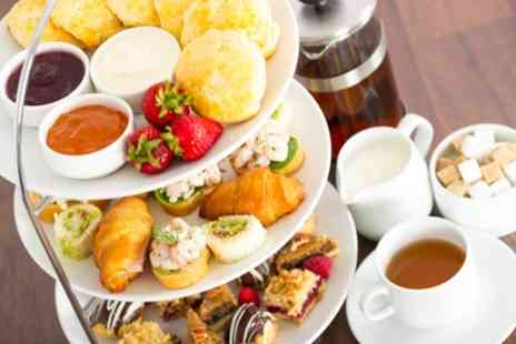 Bowden Hall Hotel - Afternoon Tea with a Peach Bellini Cocktail for Two - Save 33%
