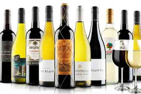 Virgin Wines Online - 12 Bottles of Wine & Free Glasses - Save 60%