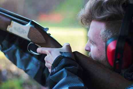 Into the Blue - Clay Pigeon Shooting Experience with 25 or 50 Cartridges - Save 34%