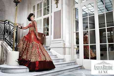 Asian Bride Luxe - Asian Bride Luxe Wedding Fair Tickets, 18 September - Save 50%