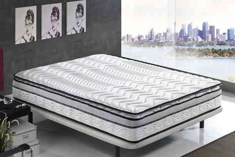 Mr Lazys - Single pillow top memory cool touch mattress - Save 88%