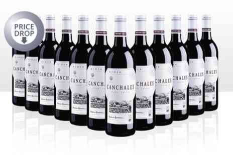 Karpe Deal - 12 Bottles of Red Wine Canchales With Free Delivery - Save 51%