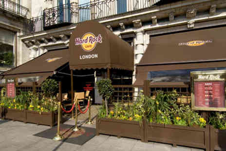 Hard Rock Cafe - Dining Experience for Two - Save 0%
