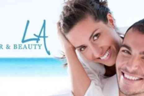LA Hair and Beauty - Laser Teeth Whitening - Save 60%