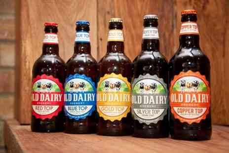 The Old Dairy Brewery - Tour and Ale Tastings for Two - Save 0%