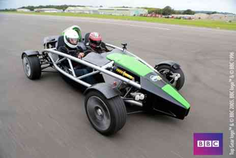 Top Gear - Ariel Atom Driving Experience plus High Speed Passenger Ride with Studio Time - Save 0%