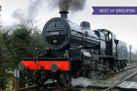 Midland Railway Butterley - Family Day Out with Train Rides and Country Park Entry - Save 59%