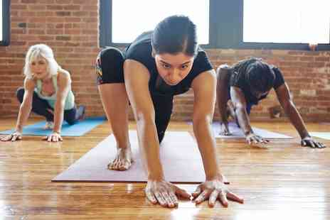 Total Body Bootcamp - Five Yoga Sessions for One or Two - Save 0%