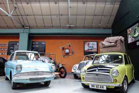 London Motor Museum - London Motor Museum Adult, Child of Family Ticket - Save 47%