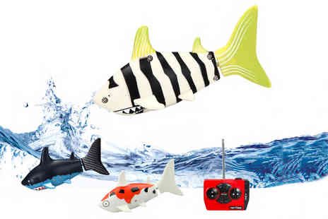 Thirteen and Thirteen - Remote controlled fish shark toy - Save 67%