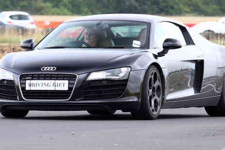 Driving Gift - Supercar thrill driving experience with four laps - Save 61%
