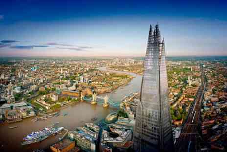 The View from The Shard - Take in the Views from the Shard and enjoy a Thames Lunch Cruise for Two - Save 12%