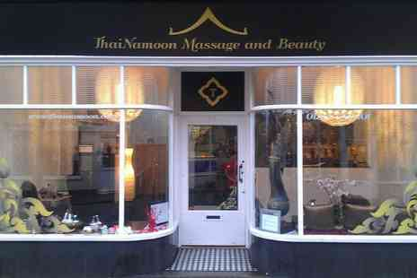 ThaiNamoon Massage and Beauty - Stone Massage Therapy - Save 33%