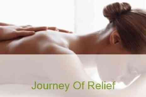 Mini Holiday Massages - Journey of Relief 60 or 90 minutes Swedish Massage - Save 36%