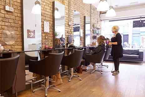 Luca Salon London - Head Colour Kerastase Treatment with Head Massage, Cut & Blow Dry - Save 36%