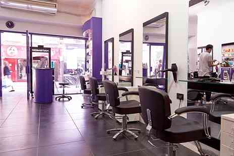 The Purple Salon - Gents Haircut by Senior Stylist - Save 3%