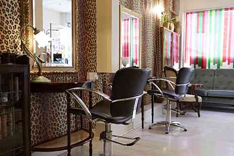 Galina Hair Studio - Ladies Half Head Highlights, Cut & Blow Dry - Save 21%