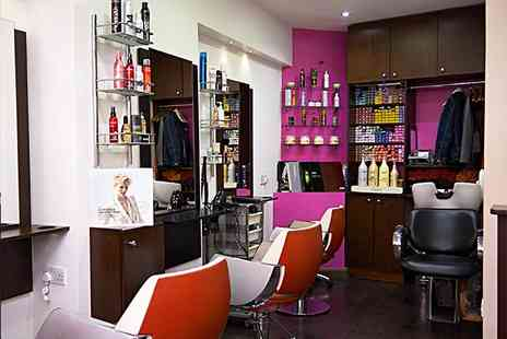 Groovy Hair Salon - Half Head of Highlights and cut - Save 27%