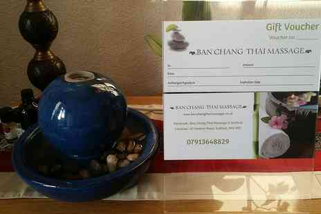 Ban Chang Thai Massage - Amazing Thai Foot and Lower Legs Massage for Therapist Recommended - Save 25%