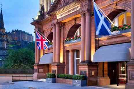 Waldorf Astoria Edinburgh - Michelin Recommended Meal & Bellinis for 2 - Save 51%