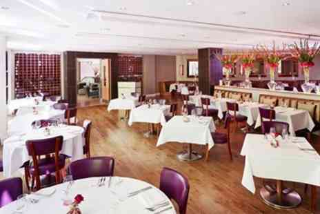 The River Bar & Restaurant - Five Star Manchester Hotel Sunday Lunch & Bubbly for 2 - Save 41%