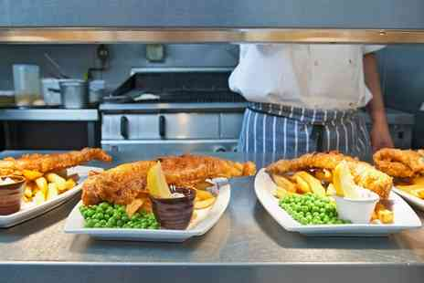 Hill Cafe & Bistro - Fish and Chips for Two or Four - Save 0%