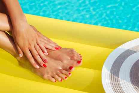 Elements Retreat - Gel Mani Pedi with Half Leg and Bikini Wax - Save 51%