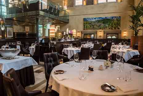Michelin-Starred La Chapelle - Three Course Lunch or Dinner with Glass of Brut - Save 0%