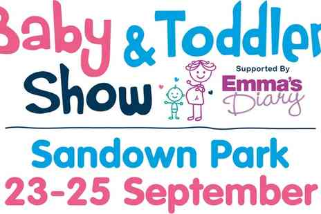 Baby and Toddler Show - Ticket to the Baby and Toddler Show South East on 23 To 25 September - Save 38%