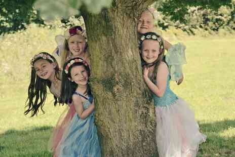 Fairy Dust Pictures - Kids Fairy Outside Photoshoot with Four Prints - Save 0%