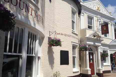 The County of Suffolk - Sunday Roast with Drinks for Two or Four - Save 26%