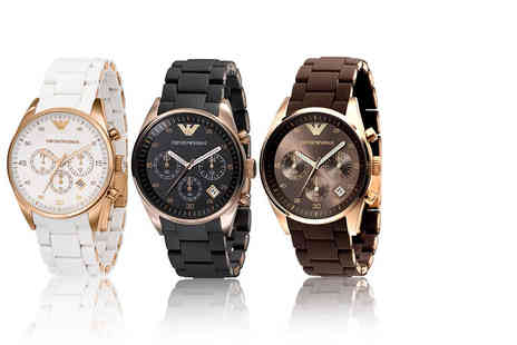 Gray Kingdom - Ladies Armani watch choose from three styles - Save 65%