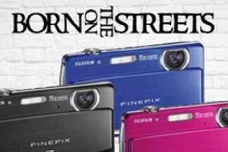 Born on the Streets - One Fujifilm Z90 Digital Cameras - Save 58%