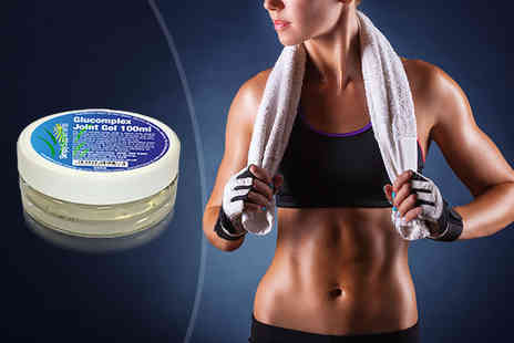 Simply Supplements - 100ml tub of GlyComplex cooling gel for joints - Save 33%