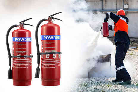 direct2publik - 1kg or 2kg fire extinguisher - Save 67%