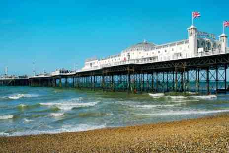 The Brighton Hotel - One Night Stay for 2 & Breakfast; with Option for Dinner, Glass of Prosecco and Late Check Out  - Save 0%
