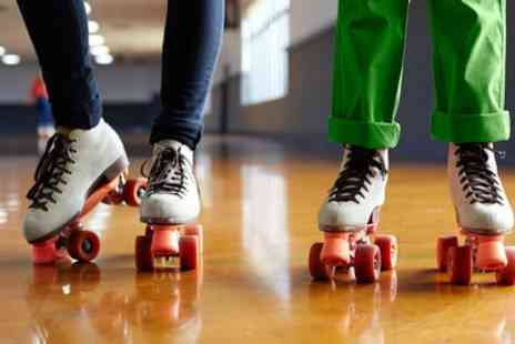Lets Roll - Two Hours of Quad Skating with Skate Hire Plus Slush and Hot Dog for Up to Four - Save 0%