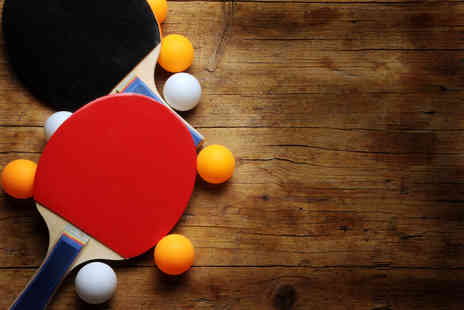 Spot White - Two hours of ping pong with a beer or milkshake and nachos for two - Save 62%