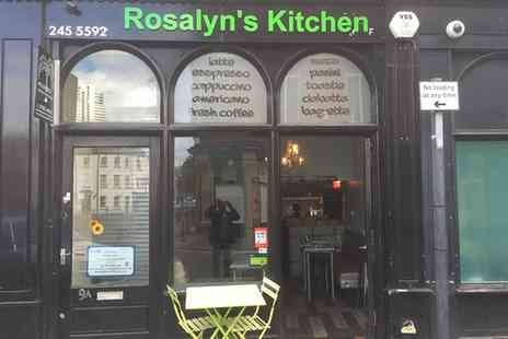 Rosalyn's Kitchen - English or Vegetarian Breakfast for Up to Four - Save 43%