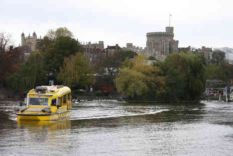 Windsor Duck Tours - River and road circular tour of Windsor for one or two - Save 22%
