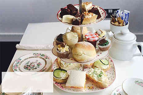 Caledonian Designer Cakes - Homemade afternoon tea for two - Save 55%
