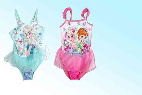 Linen Ideas - Childrens Frozen or Finding Nemo swimsuit without frills or swimsuit with frills - Save 43%